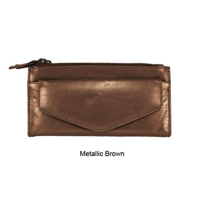 Latico Leathers Mimi in Memphis Agnes Clutch Organizer Wallet
