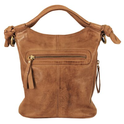 Latico Leathers Mimi in Memphis Ophelia Convertible Cross-Body Medium Bucket Bag