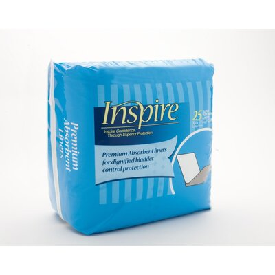 Inspire® Premium Absorbent Liners (Case of 250)