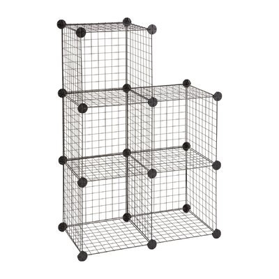 Safco Wire Cubes in Black