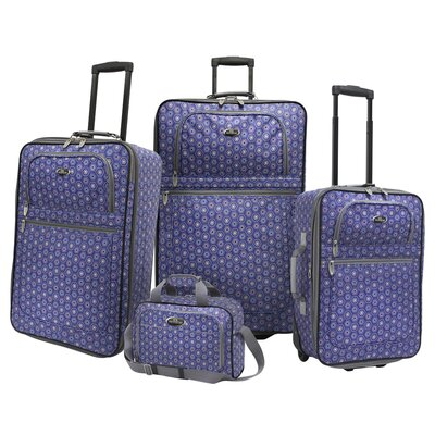 U.S. Traveler Holiday II Luggage 4 Piece Set