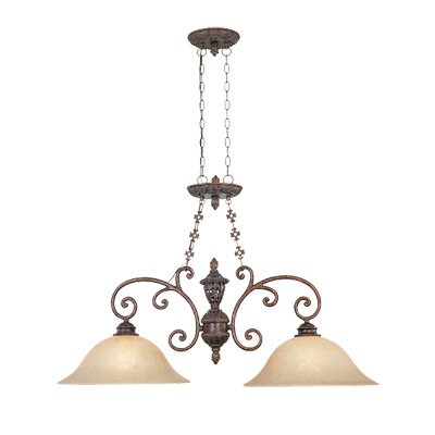 Designers Fountain Amherst 2 Light Kitchen Island Pendant