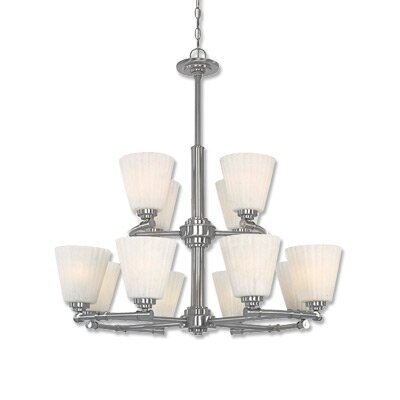 Designers Fountain Celeste 12 Light Chandelier