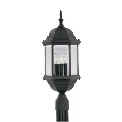 Designers Fountain Devonshire 3 Light Post Lantern