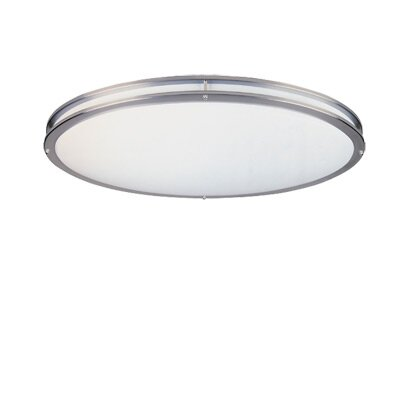 Designers Fountain Oval Flush Mount