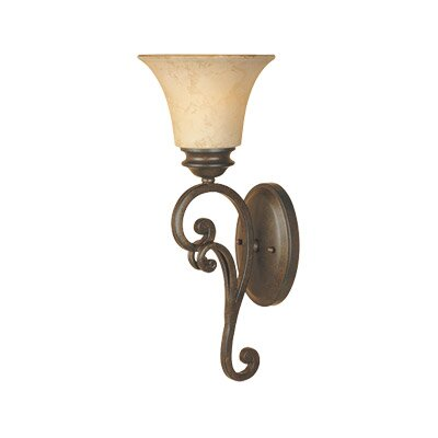 Designers Fountain Mendocino  Wall Sconce in Forged Sienna