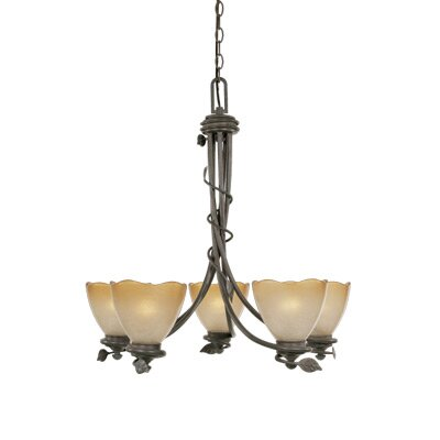 Designers Fountain Timberline 5 Light Chandelier