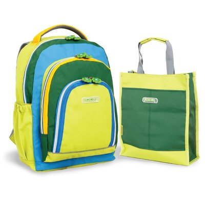 J World Kiddy Kid's Backpack with Totebag