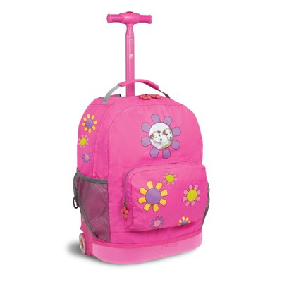 J World Daisy Rolling Backpack