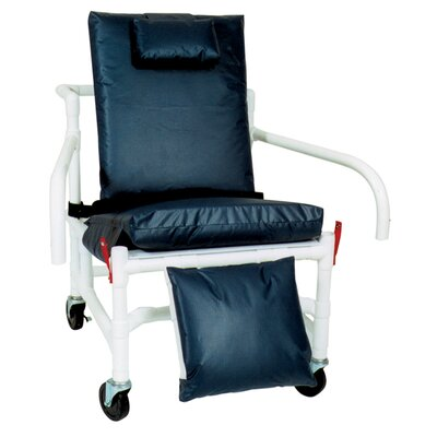MJM International Bariatric Geriatric Chair with Leg Extensions