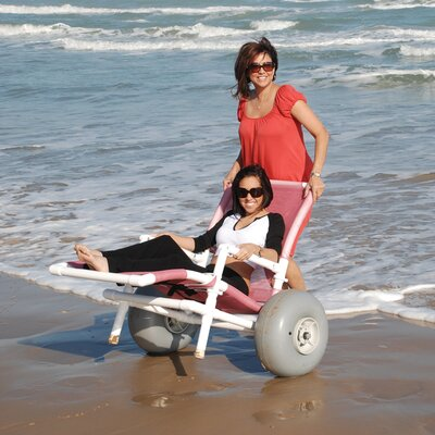 MJM International All Terrain Beach Lounger
