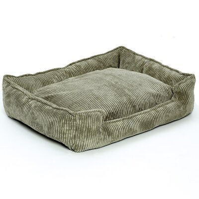 Jax & Bones Corduroy Lounge Dog Bed in Olive