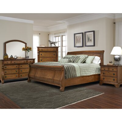 kathy ireland Home by Vaughan Georgetown Sleigh Bedroom Collection