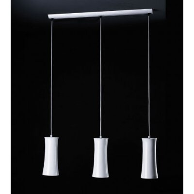 B.Lux Teide 3 Light Pendant Light