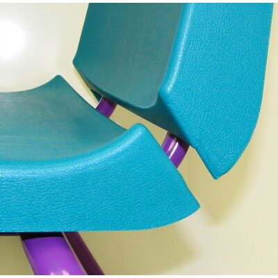 "Mahar Creative Mix and Match 12"" Plastic Classroom Stacking Chair"