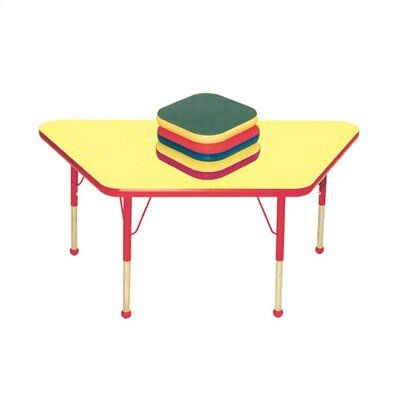 Mahar Small Trapezoid Creative Colors Activity Table