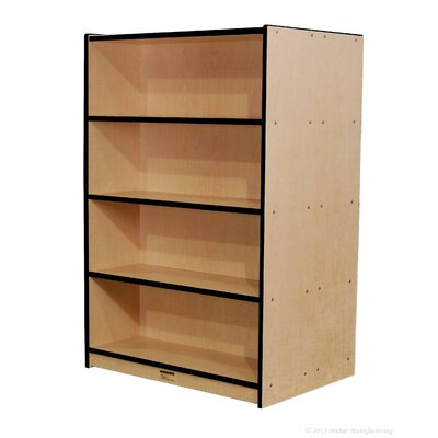 "Mahar 60"" Double-Sided Bookcase"