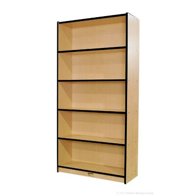 "Mahar 72"" Double-Sided Bookcase"