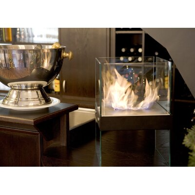 Fire Dance Cube Bio Ethanol Indoor/Outdoor Fireplace