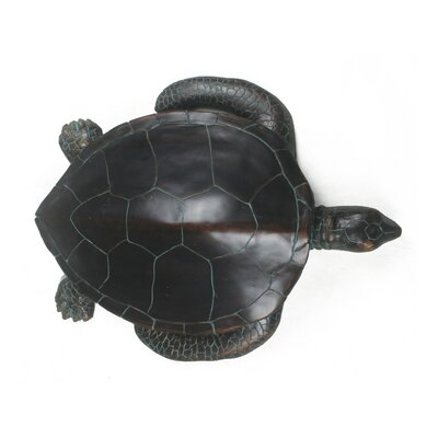 Privilege Dakr Resin Turtle Statue