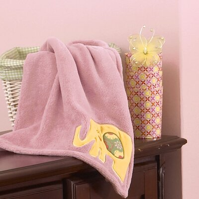 Alphabet Sweeties Boa Blanket