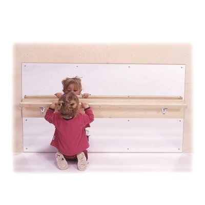 Steffy Wood Products Infant Wall Mirror