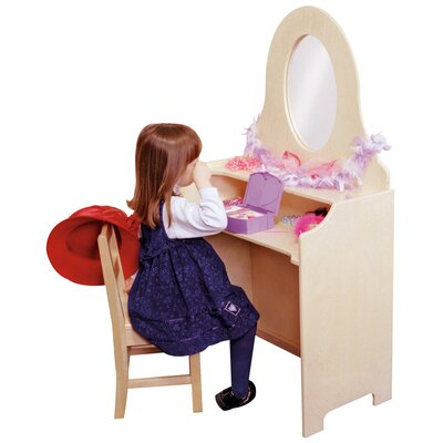 "Steffy Wood Products Heirloom 30"" Children's Vanity"