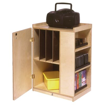 Steffy Wood Products Audio Storage Unit