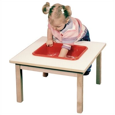 Steffy Wood Products Toddler Small Sand and Water Table