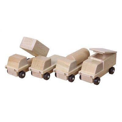 Steffy Wood Products Maple Transportation Set