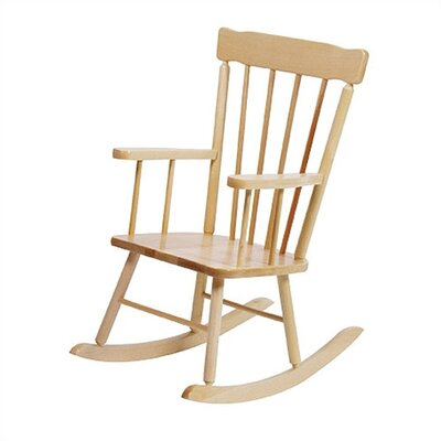 Steffy Wood Products School Age Kid's Rocking Chair