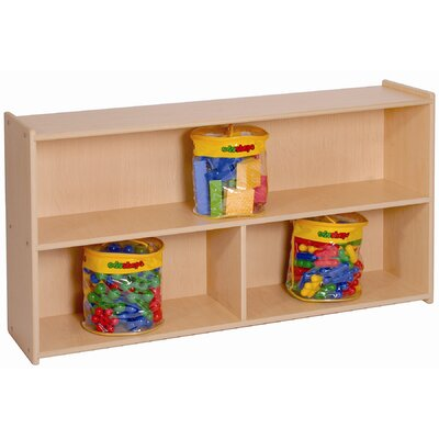 "Steffy Wood Products 27"" High Two Shelf Storage"