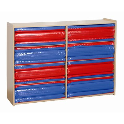 Steffy Wood Products Rest Mat Storage Unit