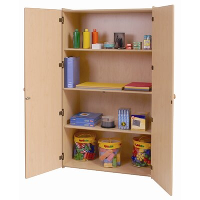 Steffy Wood Products Teacher's Storage Cabinet