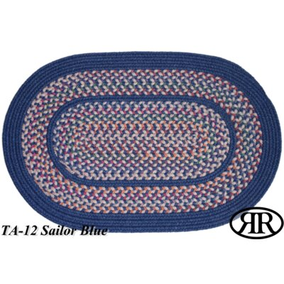 Rhody Rug Tapestry Sailor Blue Multi Rug