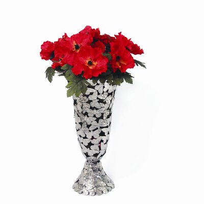 Star Home Butterfly Vase