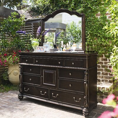 Paula Deen Home Steel Magnolia 9 Drawer Dresser