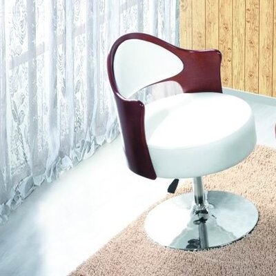 International Design USA Caravan Adjustable Leather Side Chair