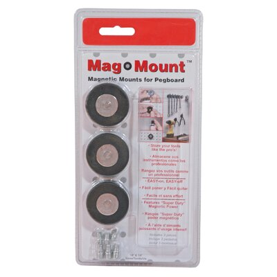 Triton Products MagClip Magnetic Mag Mount Tool Holder (Set of 3)