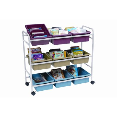 Copernicus Deluxe Book Browser Cart with Eco Tub