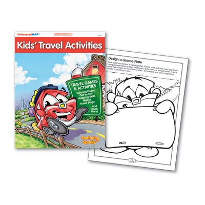 Universal Map Kids' Travel Activities