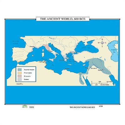 Universal Map World History Wall Maps - The Ancient World
