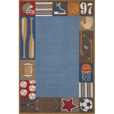 Momeni Lil' Mo Whimsy Denim Kids Rug