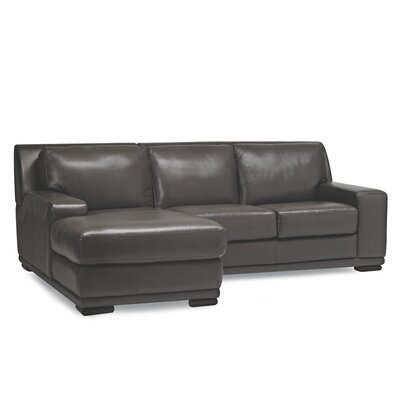 Sofas to Go Ryder Leather Sectional