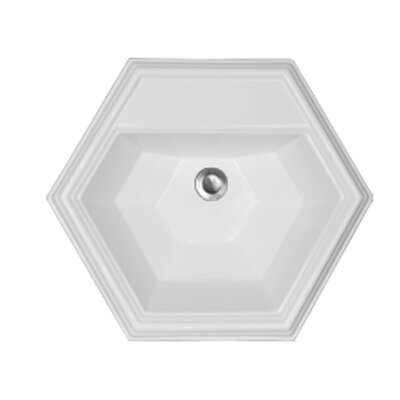CorStone Advantage Edgefield Self Rimming Hexagon Bathroom Sink