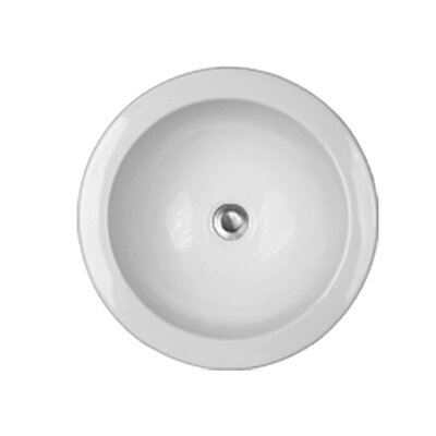 Advantage Series Fairlawn Self Rimming or Undermount Round Bathroom Sink - 94