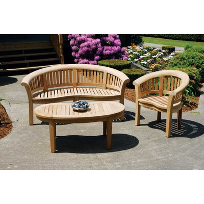 Jewels of Java Half Moon Bench Seating Group