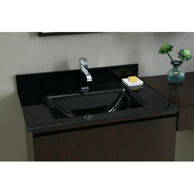 "Xylem 31"" Vanity Top with Square Bowl"