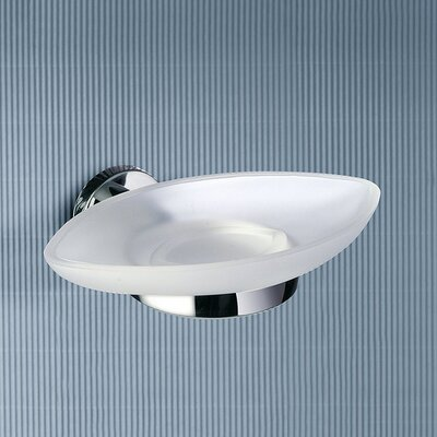 Gedy by Nameeks Demetra Wall Mounted Soap Dish in Chrome