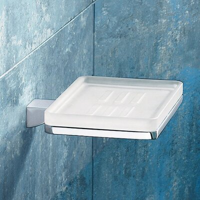 Gedy by Nameeks Glamour Wall Mounted Soap Dish in Chrome
